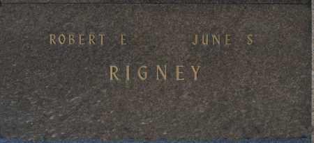 RIGNEY, ROBERT E - Washington County, Oklahoma | ROBERT E RIGNEY - Oklahoma Gravestone Photos