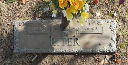 RITER, BERTHA L - Washington County, Oklahoma | BERTHA L RITER - Oklahoma Gravestone Photos