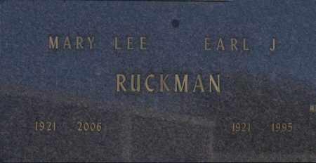 RUCKMAN, MARY LEE - Washington County, Oklahoma | MARY LEE RUCKMAN - Oklahoma Gravestone Photos