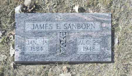 SANBORN, JAMES E - Washington County, Oklahoma   JAMES E SANBORN - Oklahoma Gravestone Photos
