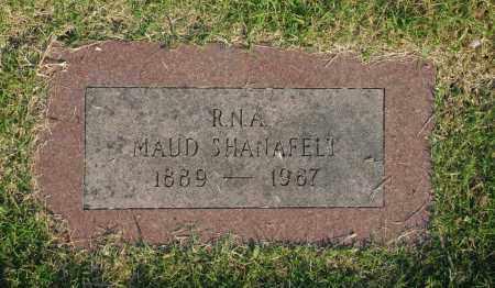 SHANAFELT, MAUD - Washington County, Oklahoma   MAUD SHANAFELT - Oklahoma Gravestone Photos
