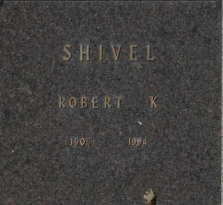 SHIVEL, ROBERT K - Washington County, Oklahoma   ROBERT K SHIVEL - Oklahoma Gravestone Photos