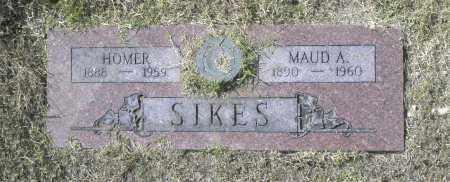 SIKES, HOMER - Washington County, Oklahoma | HOMER SIKES - Oklahoma Gravestone Photos