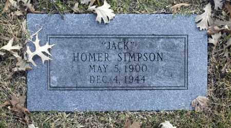 "SIMPSON, HOMER ""JACK"" - Washington County, Oklahoma   HOMER ""JACK"" SIMPSON - Oklahoma Gravestone Photos"