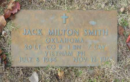 SMITH (VETERAN VIET), JACK MILTON - Washington County, Oklahoma | JACK MILTON SMITH (VETERAN VIET) - Oklahoma Gravestone Photos