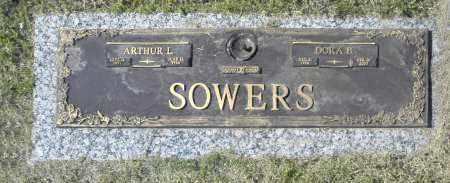 SOWERS, ARTTHUR L - Washington County, Oklahoma | ARTTHUR L SOWERS - Oklahoma Gravestone Photos