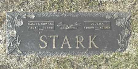 STARK, WALTER EDWARD - Washington County, Oklahoma | WALTER EDWARD STARK - Oklahoma Gravestone Photos