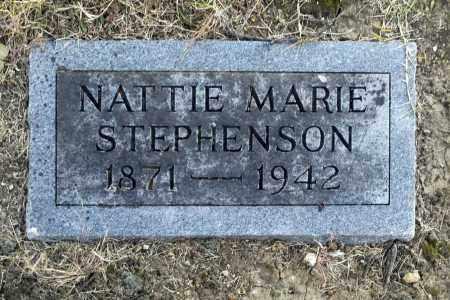 STEPHENSON, NATTIE MARIE - Washington County, Oklahoma | NATTIE MARIE STEPHENSON - Oklahoma Gravestone Photos