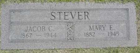 STEVER, JACOB C. - Washington County, Oklahoma | JACOB C. STEVER - Oklahoma Gravestone Photos
