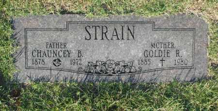 STRAIN, CHAUNCEY B. - Washington County, Oklahoma | CHAUNCEY B. STRAIN - Oklahoma Gravestone Photos
