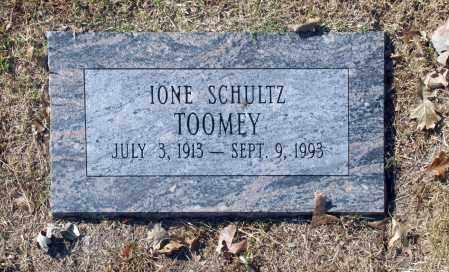 TOOMEY, IONE SCHULTZ - Washington County, Oklahoma | IONE SCHULTZ TOOMEY - Oklahoma Gravestone Photos