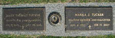 TUCKER, MARKA J. - Washington County, Oklahoma | MARKA J. TUCKER - Oklahoma Gravestone Photos