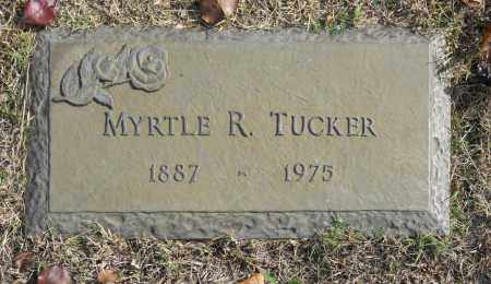 TUCKER, MYRTLE R - Washington County, Oklahoma   MYRTLE R TUCKER - Oklahoma Gravestone Photos