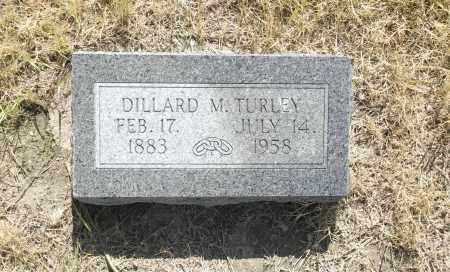 TURLEY, DILLARD M. - Washington County, Oklahoma | DILLARD M. TURLEY - Oklahoma Gravestone Photos