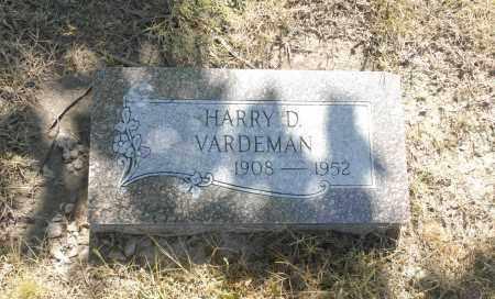 VARDEMAN, HARRY D. - Washington County, Oklahoma | HARRY D. VARDEMAN - Oklahoma Gravestone Photos