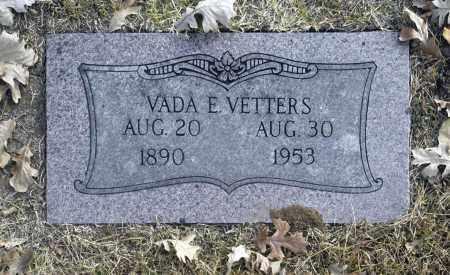 VETTERS, VADA E - Washington County, Oklahoma | VADA E VETTERS - Oklahoma Gravestone Photos