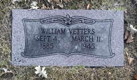 VETTERS, WILLIAM - Washington County, Oklahoma | WILLIAM VETTERS - Oklahoma Gravestone Photos