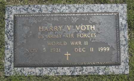 VOTH, HARRY V. - Washington County, Oklahoma   HARRY V. VOTH - Oklahoma Gravestone Photos