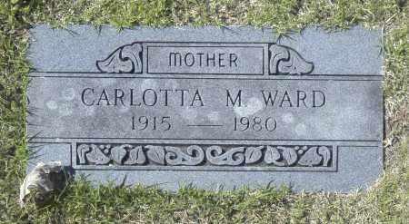 WARD, CARLOTTA M - Washington County, Oklahoma | CARLOTTA M WARD - Oklahoma Gravestone Photos