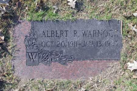 WARNOCK, ALBERT R - Washington County, Oklahoma   ALBERT R WARNOCK - Oklahoma Gravestone Photos