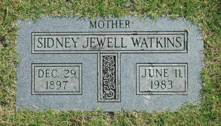 WATKINS, SIDNEY JEWELL - Washington County, Oklahoma   SIDNEY JEWELL WATKINS - Oklahoma Gravestone Photos