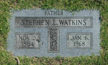 WATKINS, STEPHEN L. - Washington County, Oklahoma | STEPHEN L. WATKINS - Oklahoma Gravestone Photos