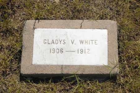 WHITE, GLADYS V. - Washington County, Oklahoma | GLADYS V. WHITE - Oklahoma Gravestone Photos