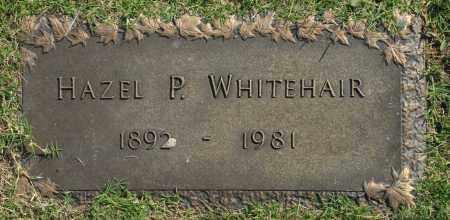 WHITEHAIR, HAZEL P. - Washington County, Oklahoma   HAZEL P. WHITEHAIR - Oklahoma Gravestone Photos