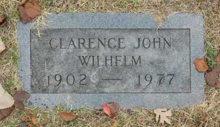 WILHELM, CLARENCE JOHN - Washington County, Oklahoma | CLARENCE JOHN WILHELM - Oklahoma Gravestone Photos