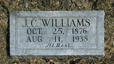 WILLIAMS, J C - Washington County, Oklahoma | J C WILLIAMS - Oklahoma Gravestone Photos