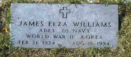 WILLIAMS, JAMES ELZA - Washington County, Oklahoma | JAMES ELZA WILLIAMS - Oklahoma Gravestone Photos