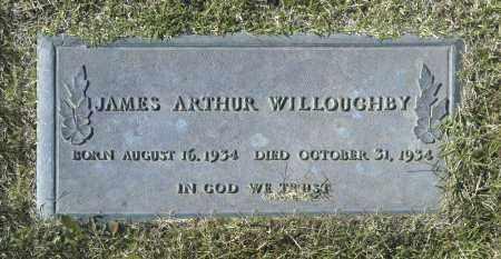 WILLOUGHBY, JAMES ARTHUR - Washington County, Oklahoma   JAMES ARTHUR WILLOUGHBY - Oklahoma Gravestone Photos