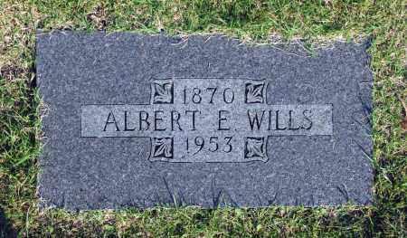 WILLS, ALBERT E. - Washington County, Oklahoma | ALBERT E. WILLS - Oklahoma Gravestone Photos