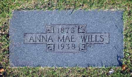 WILLS, ANNA MAE - Washington County, Oklahoma   ANNA MAE WILLS - Oklahoma Gravestone Photos