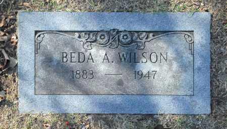 WILSON, BEDA A - Washington County, Oklahoma | BEDA A WILSON - Oklahoma Gravestone Photos