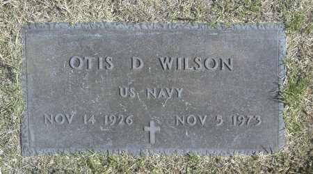 WILSON, OTIS D - Washington County, Oklahoma | OTIS D WILSON - Oklahoma Gravestone Photos