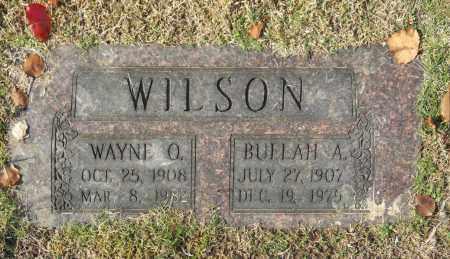 WILSON, WAYNE O - Washington County, Oklahoma   WAYNE O WILSON - Oklahoma Gravestone Photos