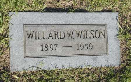 WILSON, WILLARD W. - Washington County, Oklahoma   WILLARD W. WILSON - Oklahoma Gravestone Photos