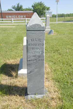 WOODARD, ALLIE - Washington County, Oklahoma | ALLIE WOODARD - Oklahoma Gravestone Photos