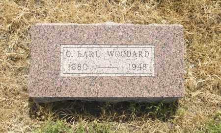 WOODARD, C. EARL - Washington County, Oklahoma | C. EARL WOODARD - Oklahoma Gravestone Photos