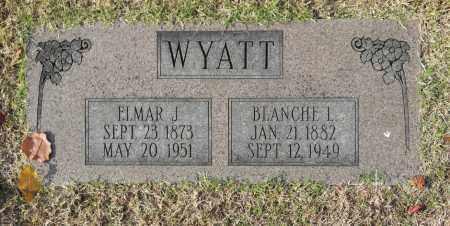 WYATT, ELMAR J - Washington County, Oklahoma   ELMAR J WYATT - Oklahoma Gravestone Photos