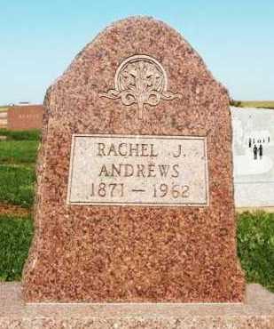 ANDREWS, RACHEL J - Washita County, Oklahoma   RACHEL J ANDREWS - Oklahoma Gravestone Photos