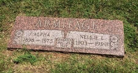 ARMITAGE, ALPHA - Washita County, Oklahoma | ALPHA ARMITAGE - Oklahoma Gravestone Photos