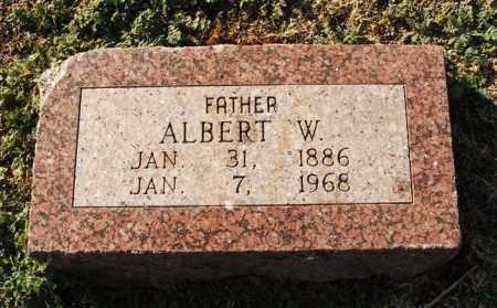 BAIRD, ALBERT W - Washita County, Oklahoma | ALBERT W BAIRD - Oklahoma Gravestone Photos