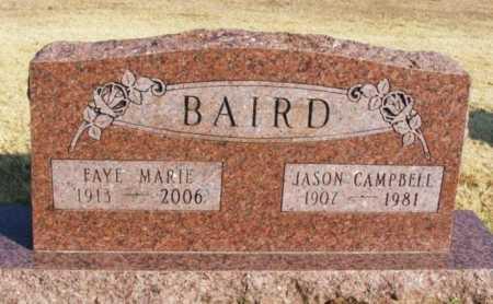 BAIRD, FAYE MARIE - Washita County, Oklahoma | FAYE MARIE BAIRD - Oklahoma Gravestone Photos