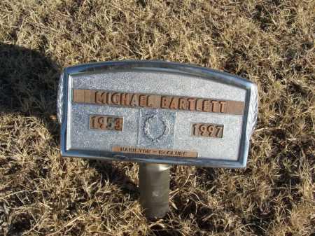 BARTLETT, MICHAEL - Washita County, Oklahoma | MICHAEL BARTLETT - Oklahoma Gravestone Photos