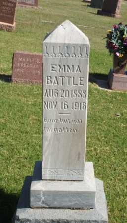 BATTLE, EMMA - Washita County, Oklahoma | EMMA BATTLE - Oklahoma Gravestone Photos