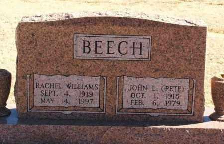 BEECH, RACHEL - Washita County, Oklahoma | RACHEL BEECH - Oklahoma Gravestone Photos