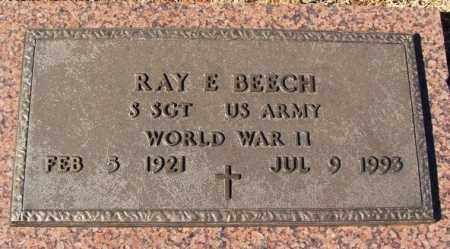 BEECH (VETERAN WWII), RAY E - Washita County, Oklahoma | RAY E BEECH (VETERAN WWII) - Oklahoma Gravestone Photos