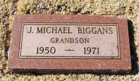 BIGGANS, J MICHAEL - Washita County, Oklahoma | J MICHAEL BIGGANS - Oklahoma Gravestone Photos